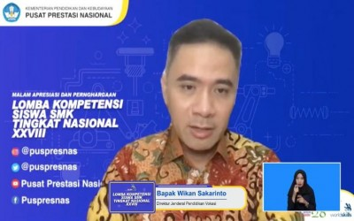 LKS SMK 2020 Melombakan Bidang Kompetensi Kebutuhan Masa Depan